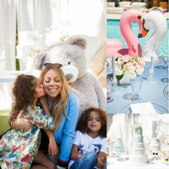 Mariah Carey's lavish birthday bash for twins