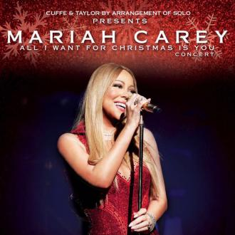 Mariah Carey announces two UK shows for Christmas