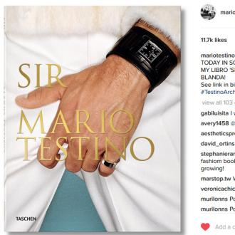 Mario Testino teases contents of book Sir