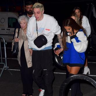 Ariana Grande's grandmother parties after MTV VMAs