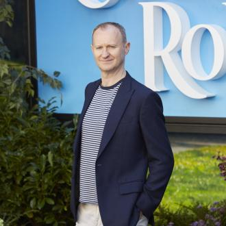 Mark Gatiss had a 'blast' on Christopher Robin shoot