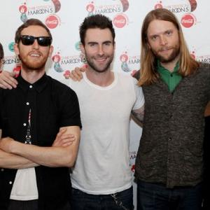 Maroon 5 Record Song With Fans