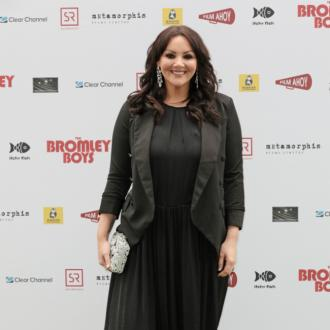 Martine McCutcheon taking extra precautions