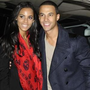 Marvin Humes Is Joined By Rochelle On Stag Party