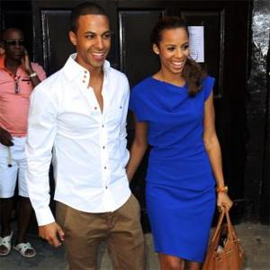 Rochelle Wiseman And Marvin Humes Back In Blighty After Honeymoon
