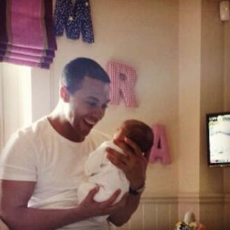 Marvin Humes Introduces Daughter To The World