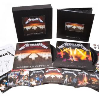 Metallica to reissue Master of Puppets
