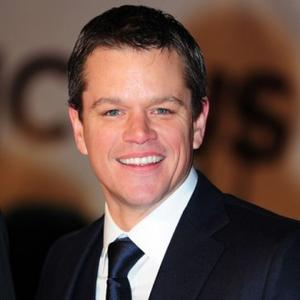 Matt Damon In Awe Of Lion