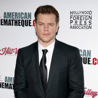 Matt Damon's Kids Loved Long Hair