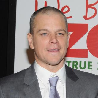 Matt Damon Celebrating Christmas Twice