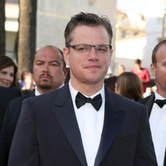 Matt Damon Feels Pressure To Make Good Movies