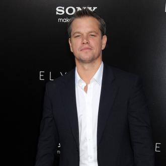Matt Damon: I Was Covered In Poo Making Elysium
