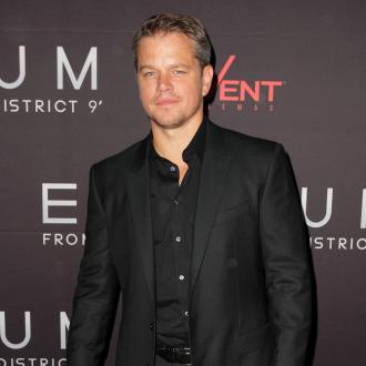 Matt Damon Likes Family Time