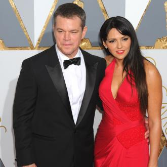 Matt Damon 'got lucky' with wife