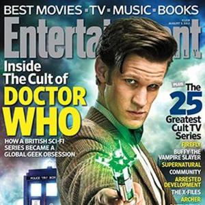 Doctor Who Is First British Tv Show On Entertainment Weekly Cover