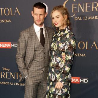 Lily James teases future engagement to Matt Smith