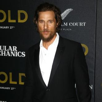 Matthew McConaughey never leaves the set of a movie