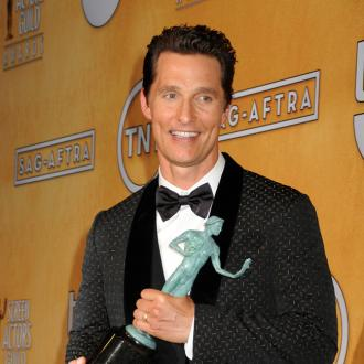 Matthew Mcconaughey Wins At Sag Awards