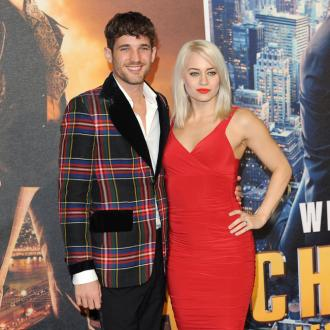 Kimberly Wyatt's husband delighted to prove fertility