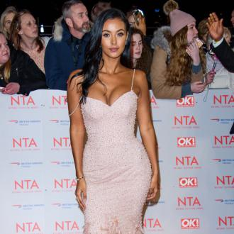 Maya Jama's Make-up Modelling Debut