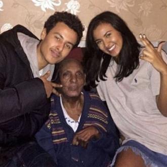 Maya Jama's grandfather has died