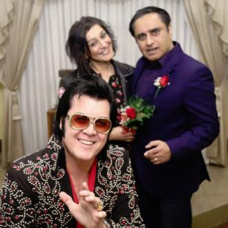 Meera Syal And Sanjeev Bhaskar Renew Wedding Vows
