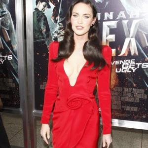 Megan Fox Dazzles In Red