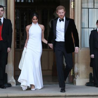 Prince Harry And Meghan Markle Leave Windsor Castle For Wedding Reception