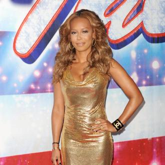 Mel B Is Prepared For Fashion Emergencies