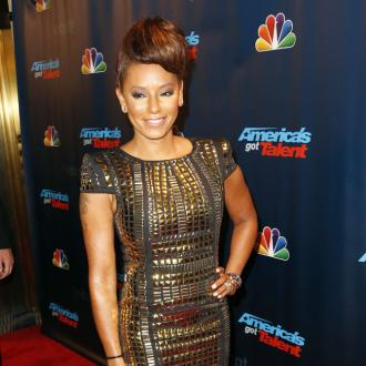 Mel B Plays 'Naked Twister' With Husband