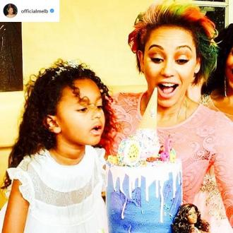 Mel B Throws Barbie And Ken Themed Birthday Party For Madison