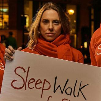 Mel C Joins The Sleep Walk For Shelter Effort