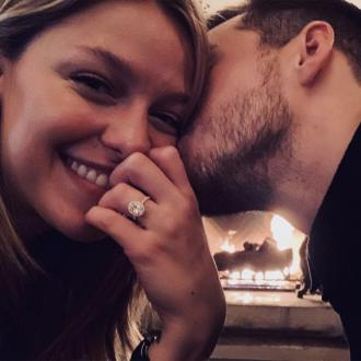 Melissa Benoist and Chris Wood are engaged