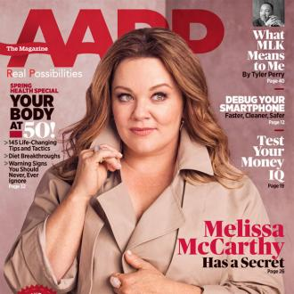 Melissa McCarthy will wear 'turbans and wacky glasses' when she's 70
