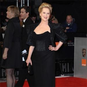 Meryl Streep Shines On Baftas Red Carpet