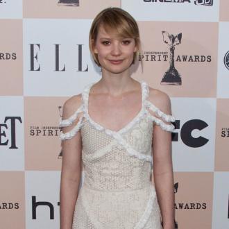 Mia Wasikowska: Nude scene was 'liberating'