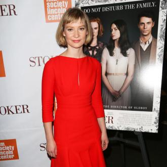 Mia Wasikowska is a 'comfort freak' with clothes