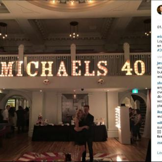 Michael Bublé Enjoys Circus-themed Birthday Party