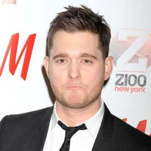 Michael Buble's Wife Threw Clothes In Pool