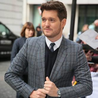 Michael Buble's festive dance party