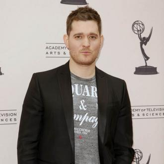 Michael Buble Sings To His Baby Son