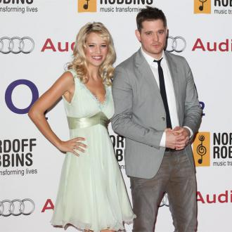 Michael Buble's wife on son's cancer: The worst is over