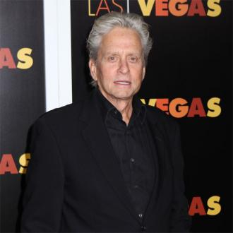 Michael Douglas lucky to have dad