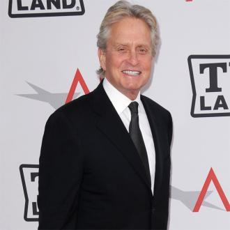 Michael Douglas Supports Son In Court