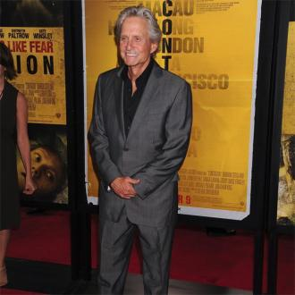 Michael Douglas was 'comfortable' kissing Matt Damon