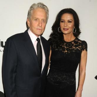 Catherine Zeta Jones lives through son