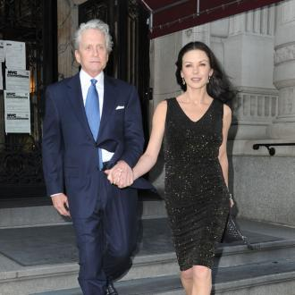 Michael Douglas Denies Marriage 'Crisis'