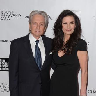Michael Douglas Positive About Marriage
