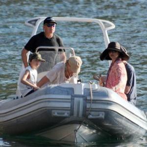 Michael Douglas Seeks Sea Thrills