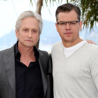 Michael Douglas: Matt Damon Kiss Was Tender